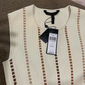 Brand new with tags BCBG Sleeveless dress.